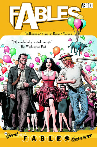 FABLES TP VOL 13 THE GREAT FABLES CROSSOVER (MR) - Packrat Comics