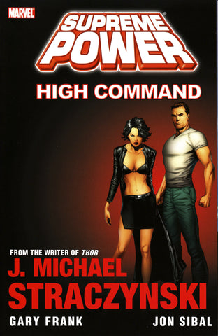 SUPREME POWER TP HIGH COMMAND (MR) - Packrat Comics