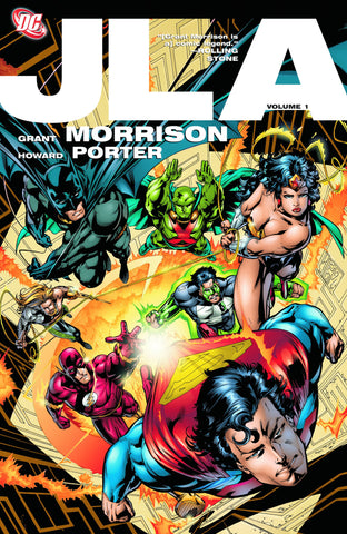 JLA TP VOL 01 - Packrat Comics