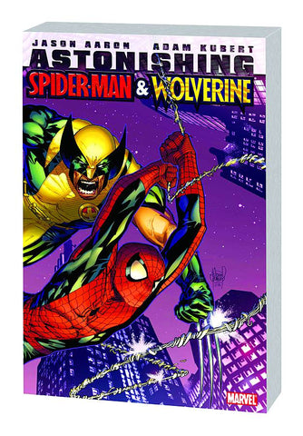 ASTONISHING SPIDER-MAN AND WOLVERINE TP - Packrat Comics