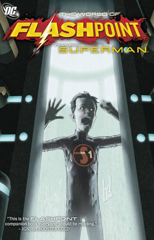 FLASHPOINT WORLD OF FLASHPOINT SUPERMAN TP - Packrat Comics
