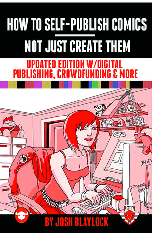 HOW TO SELF PUBLISH COMICS UPDATED HC
