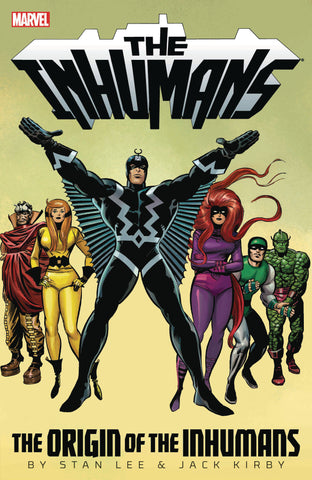 INHUMANS TP ORIGIN OF INHUMANS - Packrat Comics