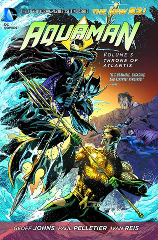 AQUAMAN HC VOL 03 THRONE OF ATLANTIS (N52)