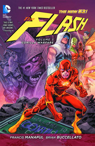 FLASH HC VOL 03 GORILLA WARFARE (N52)