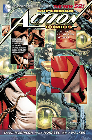 SUPERMAN ACTION COMICS TP VOL 03 AT THE END OF DAYS (N52) - Packrat Comics