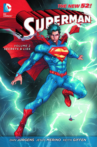 SUPERMAN TP VOL 02 SECRETS AND LIES (N52) - Packrat Comics