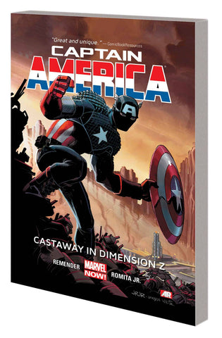 CAPTAIN AMERICA TP VOL 01 CASTAWAY DIMENSION Z BOOK 1 - Packrat Comics