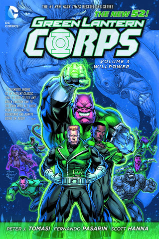 GREEN LANTERN CORPS TP VOL 03 WILLPOWER (N52)