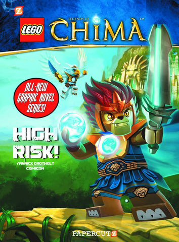 LEGO LEGENDS OF CHIMA GN VOL 01 HIGH RISK - Packrat Comics