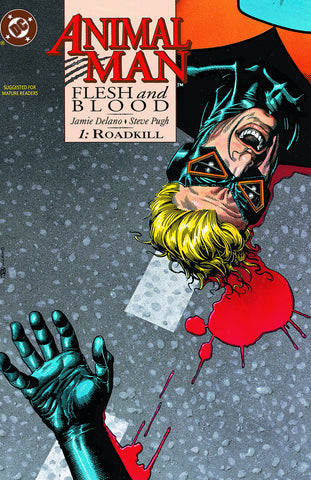 ANIMAL MAN TP VOL 06 FLESH AND BLOOD (MR) - Packrat Comics