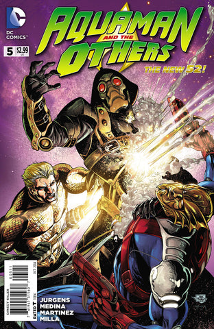 AQUAMAN AND THE OTHERS #5 - Packrat Comics