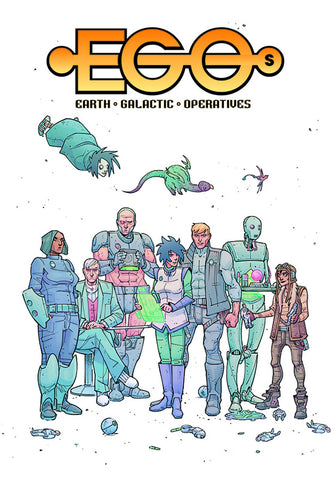 EGOS TP VOL 01 QUINTESSENCE - Packrat Comics