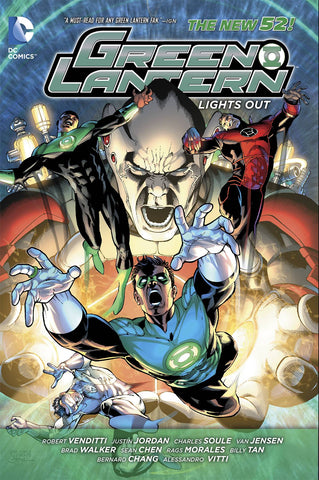 GREEN LANTERN LIGHTS OUT TP (N52)