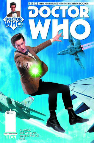 DOCTOR WHO 11TH #7 SUBSCRIPTION PHOTO - Packrat Comics