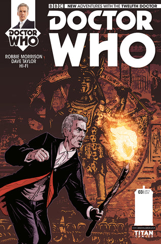 DOCTOR WHO 12TH #3 REG - Packrat Comics
