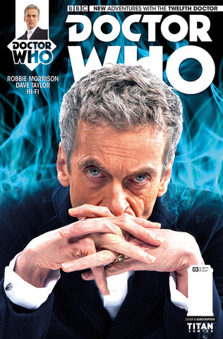 DOCTOR WHO 12TH #3 SUBSCRIPTION PHOTO