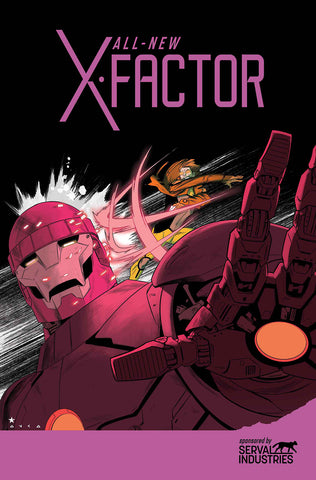ALL NEW X-FACTOR #16 AXIS - Packrat Comics