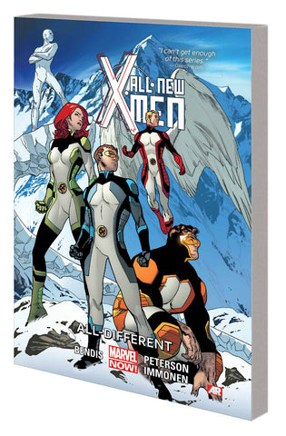 ALL NEW X-MEN TP VOL 04 ALL DIFFERENT - Packrat Comics