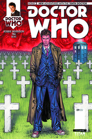 DOCTOR WHO 10TH #9 REG COOK