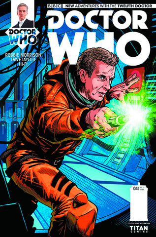 DOCTOR WHO 12TH #4 REG WILLIAMSON - Packrat Comics