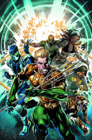 AQUAMAN AND THE OTHERS TP VOL 01 LEGACY OF GOLD (N52) - Packrat Comics