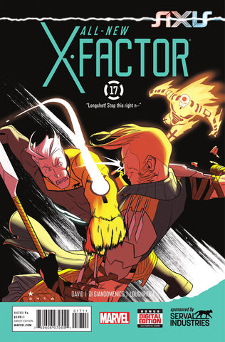 ALL NEW X-FACTOR #17 AXIS