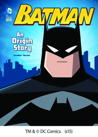 DC SUPER HEROES ORIGIN YR SC BATMAN