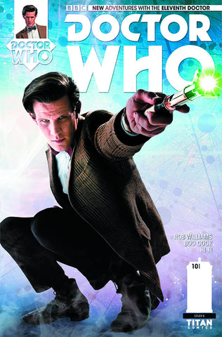DOCTOR WHO 11TH #10 SUBSCRIPTION PHOTO - Packrat Comics