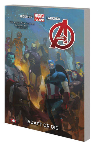 AVENGERS TP VOL 05 ADAPT OR DIE - Packrat Comics
