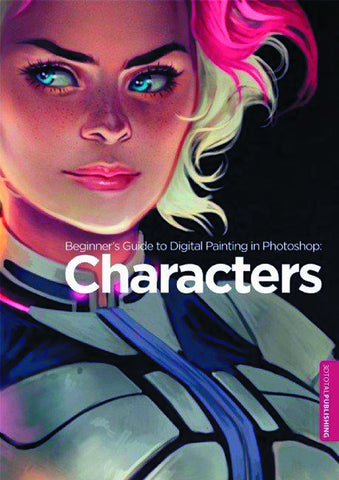 BEGINNERS GT DIGITAL PAINTING IN PHOTOSHOP SC CHARACTERS (C: - Packrat Comics