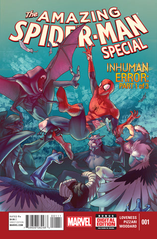 AMAZING SPIDER-MAN SPECIAL #1 - Packrat Comics