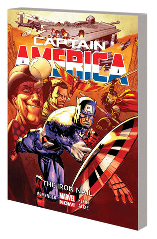 CAPTAIN AMERICA TP VOL 04 IRON NAIL - Packrat Comics