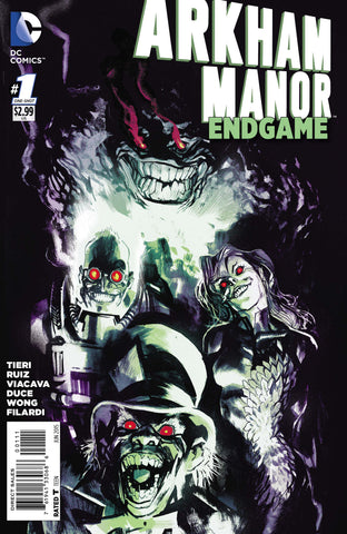 ARKHAM MANOR ENDGAME #1 - Packrat Comics