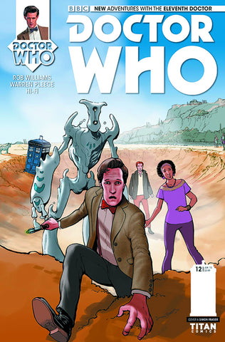 DOCTOR WHO 11TH #12 REG FRASER - Packrat Comics