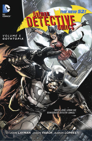 BATMAN DETECTIVE COMICS TP VOL 05 GOTHTOPIA (N52) - Packrat Comics