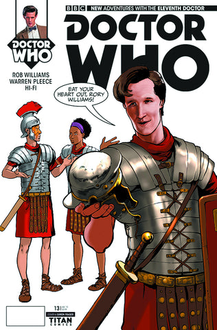 DOCTOR WHO 11TH #13 REG FRASER - Packrat Comics