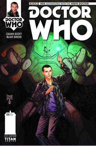 DOCTOR WHO 9TH #3 (OF 5) REG SHEDD - Packrat Comics