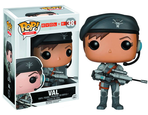 POP EVOLVE VAL VINYL FIG - Packrat Comics