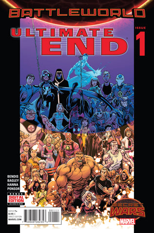 ULTIMATE END #1 (OF 5) SWA - Packrat Comics