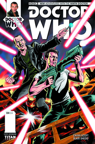 DOCTOR WHO 9TH #4 (OF 5) REG SHEDD - Packrat Comics