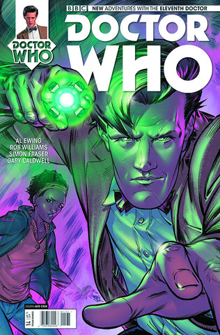 DOCTOR WHO 11TH #14 REG COOK - Packrat Comics