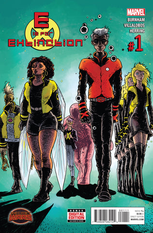 E IS FOR EXTINCTION #1 SWA - Packrat Comics