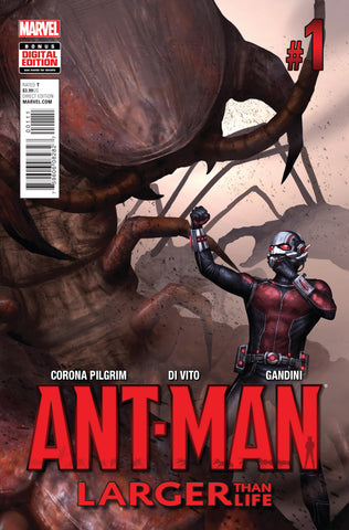 ANT-MAN LARGER THAN LIFE #1 - Packrat Comics