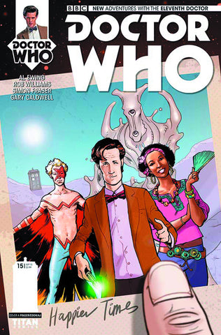 DOCTOR WHO 11TH #15 REG RONALD