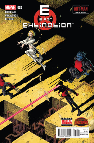 E IS FOR EXTINCTION #2 SWA - Packrat Comics