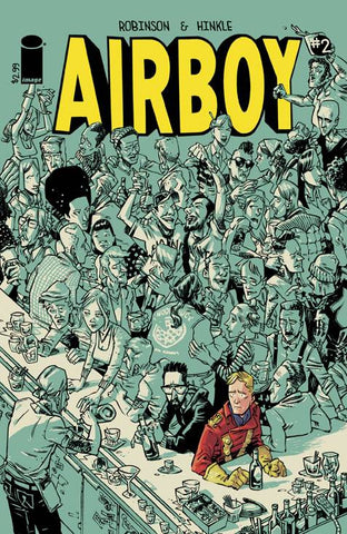 AIRBOY #2 (OF 4) - Packrat Comics
