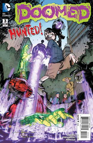 DOOMED #3 - Packrat Comics
