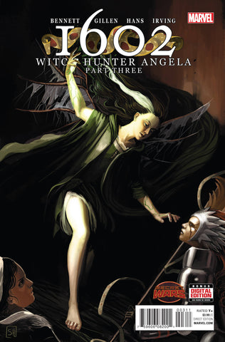 1602 WITCH HUNTER ANGELA #3 - Packrat Comics