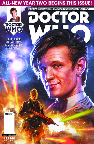 DOCTOR WHO 11TH YEAR TWO #1 REG RONALD - Packrat Comics